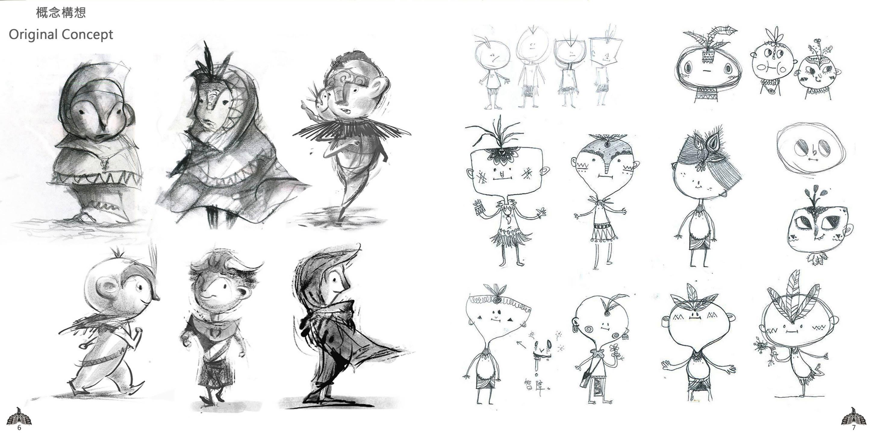 Character Design Genres : Frandlia giant eagle lik studio